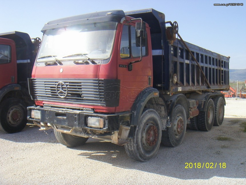 (α/α: 2765) Ανατροπή, Mercedes-Benz 3535 K READY FOR EXPORT